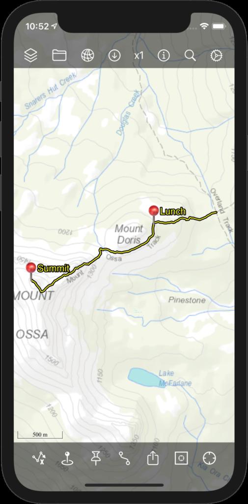 Bit Map - Map View